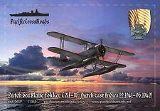 Pacific Crossroads Dutch Seaplane Fokker C. XI-W 1/350