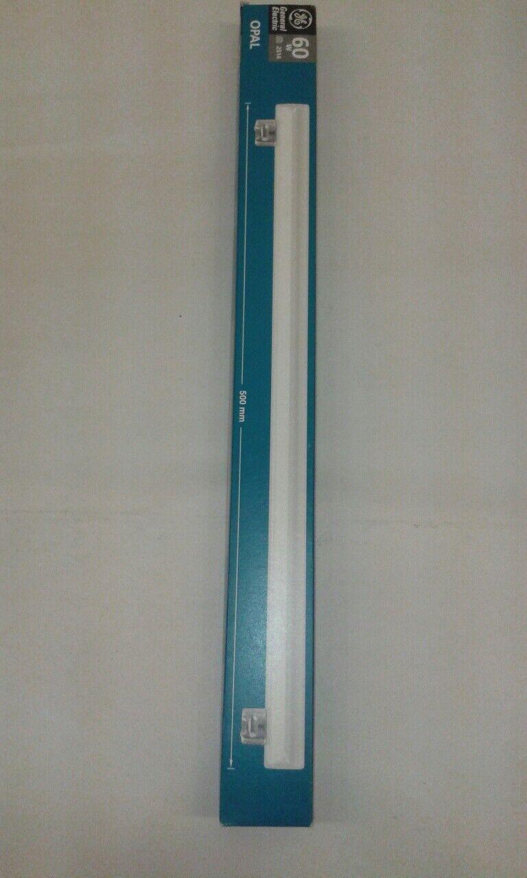 1 x GE General Electric opale opaco opaco opaco 2S14 60W 500mm Strip Light Lampada 2500hr 240V e97159