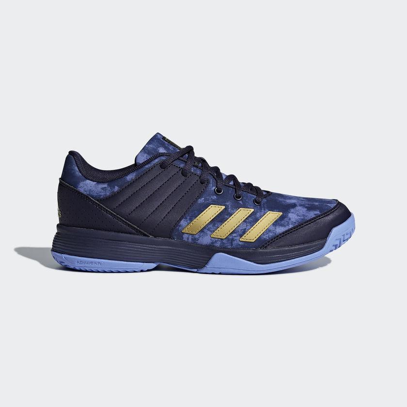 Adidas Unisex LIGRA 5 Indoor Shoes Volleyball Badminton Shoe Racket Blue BB6127