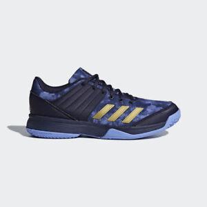 adidas-Unisex-LIGRA-5-Indoor-Shoes-Volleyball-Badminton-Shoe-Racket-Blue-BB6127