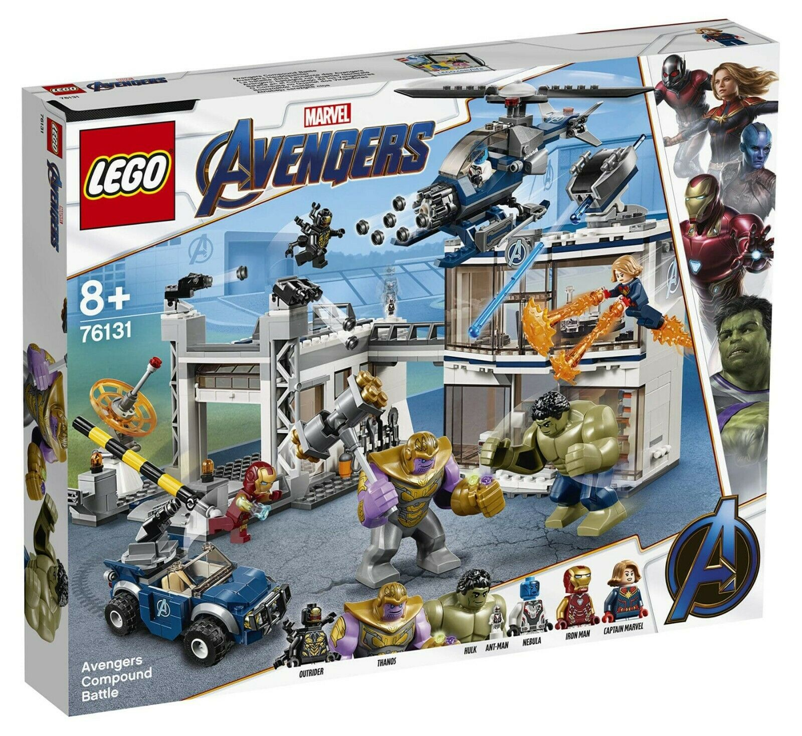 LEGO Marvel  Avengers Endgioco 76131 compoud Battle suicidio CAP. MARVEL IRON uomo  grande sconto