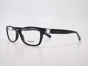 55396384d4 New Authentic Coach HC 6119 5510 Black Eyeglasses 53mm HC6119 Rx ...