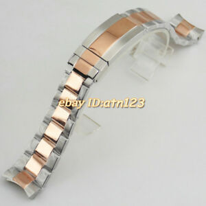 20mm-Stainless-Steel-Rose-Gold-Silver-Watch-Bands-Straps-Watchbands-Bracelet