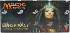 Magic-the-Gathering-Conspiracy-Take-The-Crown-Booster-Box-Factory-Sealed-Box-MTG