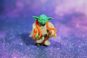 VINTAGE-Star-Wars-COMPLETE-Yoda-ACTION-FIGURE-KENNER-cane-snake-pac-man-eyes