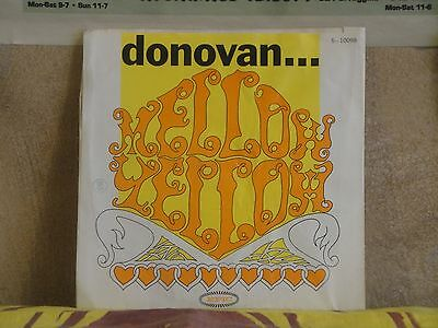 "DONOVAN, MELLOW YELLOW - 7"" 5-10098"