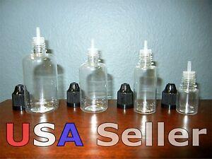 25 5ml, 15ml, 30ml or 50ml PET Plastic Squeezable Dropper Bottles Liquid Dropper