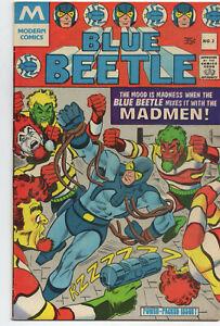 Blue-Beetle-3-Modern-1977-FN-VF-Steve-Ditko-Question-Charlton