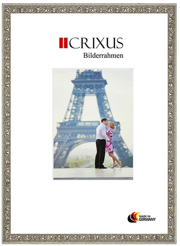 Vero Legno Cornici argentoo Anticato Rilievo Din CRIXUS30 a Foto Poster Telaio CRIXUS30 Din 1fd025