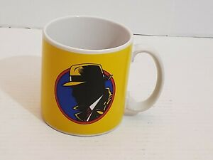 Coffee Mug Cup Dick Tracy Detective Cartoon Hat Jacket Walt Disney Collectible