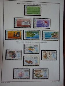 PORTUGAL-2-SERIES-1980-MNH-AZORES-MADEIRA-LOT-STAMPS