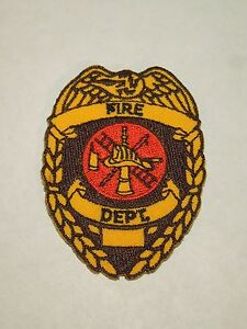 Embroidered Iron or Sew on Patch Fire Dept New York Rescue 5