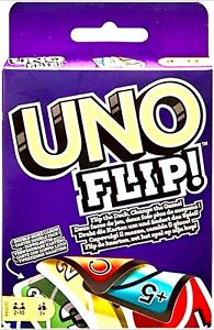 Mattle Games Uno Flip Brand New Family Fun Card Game 2-10 Players