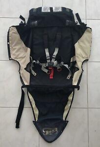 BOB-Revolution-Single-Jogger-Stroller-FABRIC-SEAT-Cloth-Blue-Black-Tan-2011