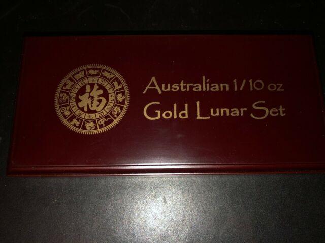 Australia 2000 Lunar Dragon 1//10 oz Series 1 9999 Gold Coin