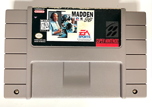 Madden NFL Football 1996 96 SUPER NINTENDO SNES GAME TESTED WORKING + AUTHENTIC