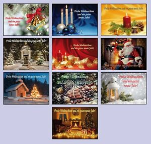 BEDRUCKBAR-20-50-100-200-300-500-600-Weihnachtskarten-mit-Umschlag-Klappkarten