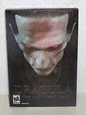 Dracula The Last Sanctuary Macintosh MAC Computer Game Brand New in Box (2002)