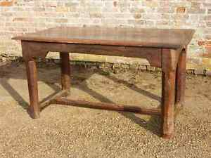 Image Is Loading Late 17th Century French Antique Oak Refectory Table
