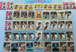 1971-1980-O-Pee-Chee-Topps-PHIL-ESPOSITO-Lot-x-54-Vintage-HOF-Bruins-Rangers