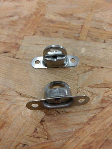 10 x Drehverschluss Nirosta V2A für 22,5 x 13,5 mm Öse Ovalösen