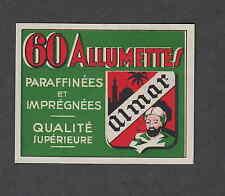 Ancienne étiquettes  de paquet Allumettes  Autrich  N61 Almar