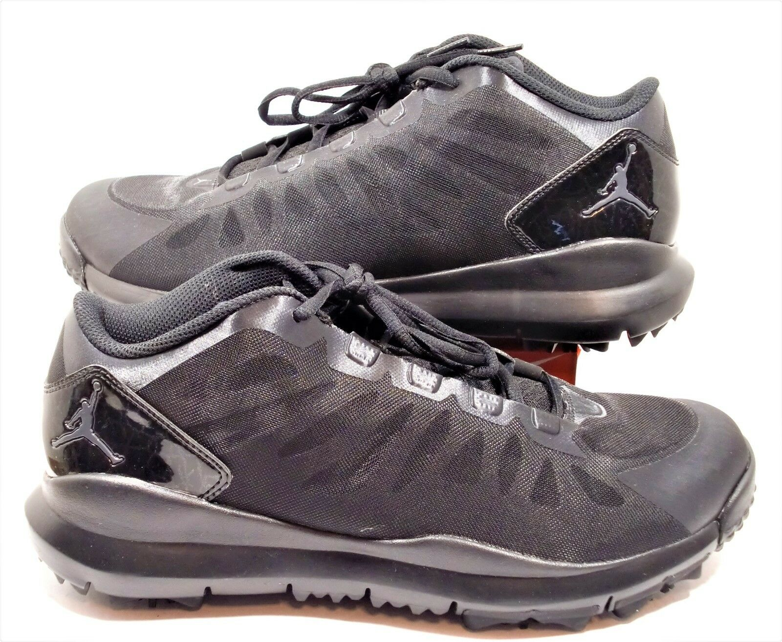 a70820e79ec4 Nike Air Jordan Dominate Pro Golf Shoes Men s Black Blackout 707516 ...