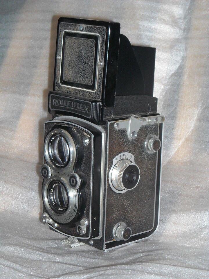 Rolleiflex, Rolleiflex Automat 6x6 - Model K4A med Metar
