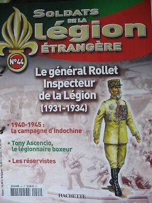 FASCICULE  41  LEGION ETRANGERE LEGIONNAIRE INSTRUCTEUR CEFE  FRENCH FOREIGN