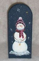 Hp Snowman Paper Towel Holder/ Christmas/new By Mb/