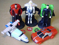 New Captain Scarlet Toys from KFC -  Gerry Anderson  Fast Food McDonalds