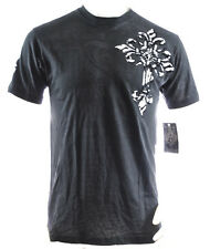 NWT ARCHAIC AFFLICTION men short sleeve tribal cross wings crewneck TSHIRT *S