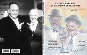 Laurel-amp-Hardy-On-The-Radio-amp-On-The-Phone-Free-CD-039-s-Brand-New-Book-Rare