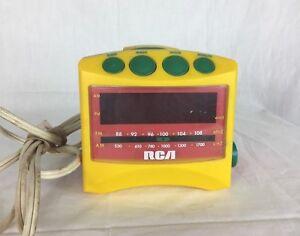 RP-3601K9A RCA Clock Radio Chipper Nipper Vintage Model No