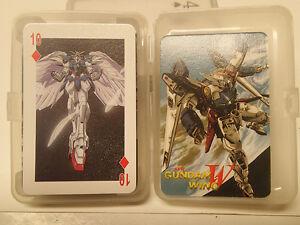 Gundam-Wing-Poker-Deck-Endless-Waltz-Playing-Cards-Brand-New