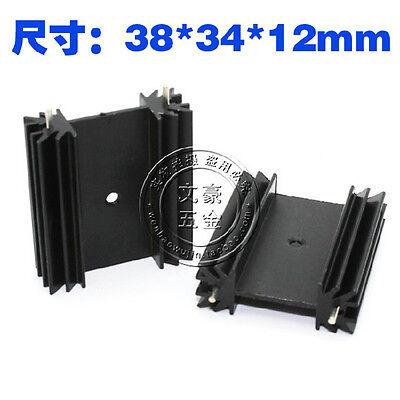 38x34x12mm Aluminum Heatsink For TO-247 T0-220 Sound Transistor Cooling Heatsink