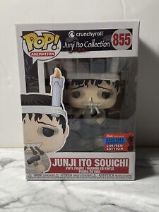 Funko POP! Crunchyroll Junji Ito Souichi #855 NYCC Hot Topic Exclusive Box Ding
