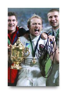 Matt-Dawson-Signed-6x4-Photo-England-Rugby-Genuine-Autograph-Memorabilia-COA