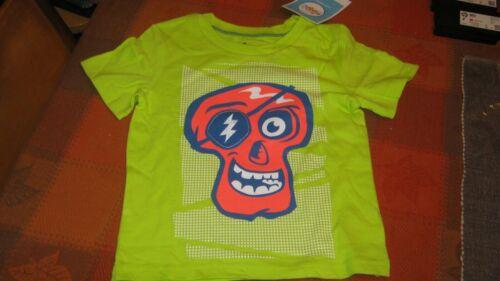 Circo Halloween Skull Face Short Sleeved T-Shirt for Boy or Girl~ 4T~ New