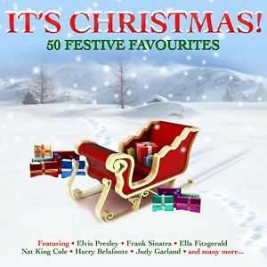 It-039-s-Christmas-VARIOUS-ARTISTS-Best-Of-50-Classic-Holiday-Songs-MUSIC-New-2-CD