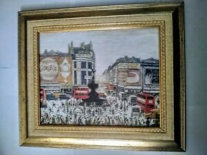034-Piccadilly-Circus-034-Ls-Lowry-The-5-6-million-painting-Dorchester-framed