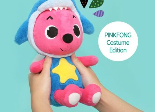 Pinkfong Plush Doll Costume Edition Shark Transformation 30cm For Baby /& Kids