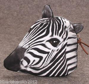 ZEBRA-New-Zipped-COIN-PURSE-Polka-Dot-Lined-Bag-Christmas-Gift-UK-Seller