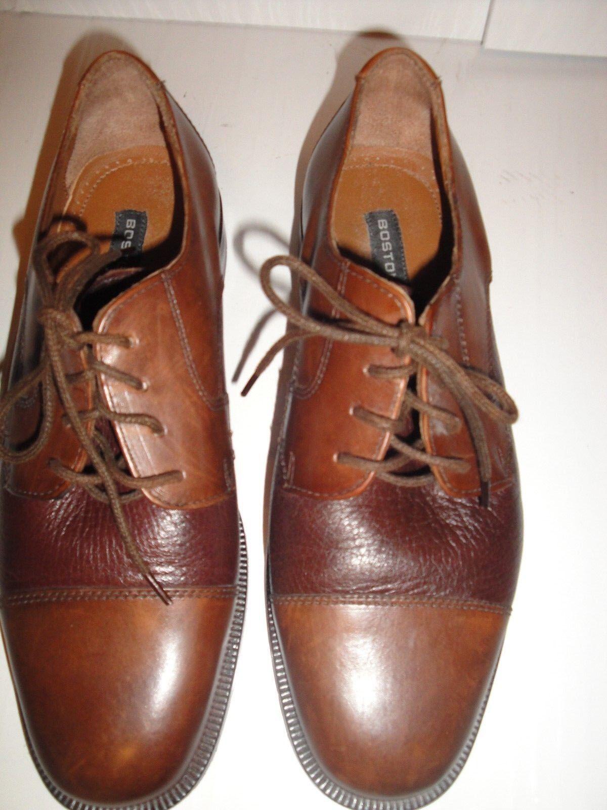 Bostonian Men's Brown Leather Oxfords shoes Size 7M