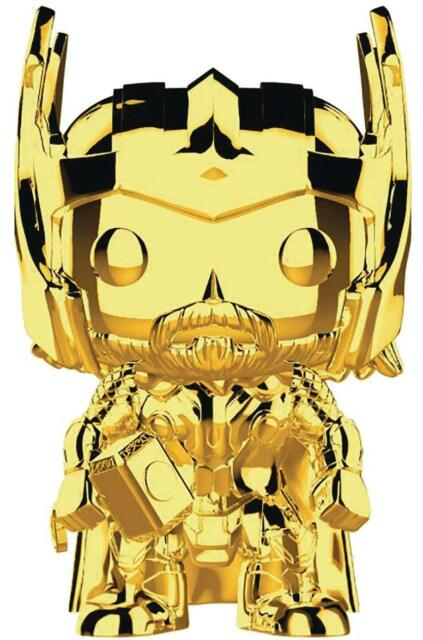 Funko POP Figures. Marvel THOR GOLDEN CHROME. #381