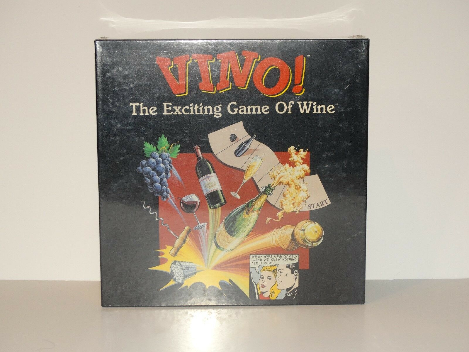 STILL SEALED 1994 VINO  The Exciting Board Game of Wine