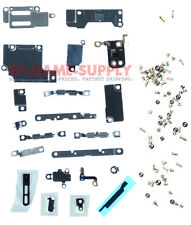 iPhone 6S Camera LCD Battery Bracket Back Metal Plate Small Parts Screws Gold