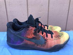 EUC-Nike-Kobe-XI-11-EM-Men-039-s-US-11-Asteroids-Sunset-Crimson-Purple-836183-805-A4