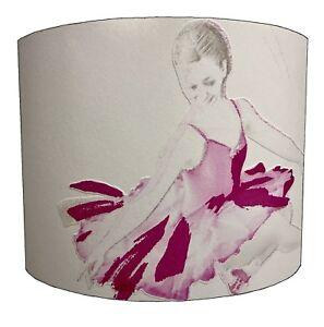 Ballerina Lampshades Ideal To Match Ballerina Duvets /& Ballerina Wallpaper Decal