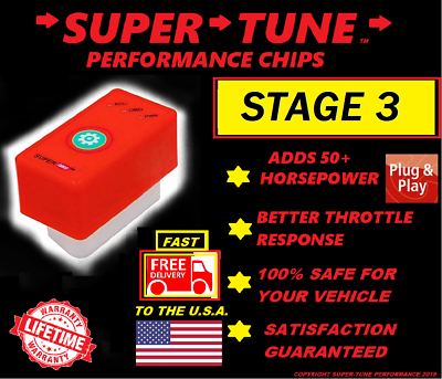 Fits 1996-1999 Chevy C1500 Suburban Performance Tuner Chip /& Power Programmer